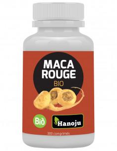 Maca Rouge Bio – 300 comprimés de 500mg