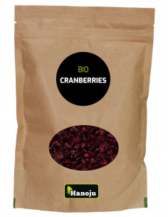 baies cranberry bio sechees