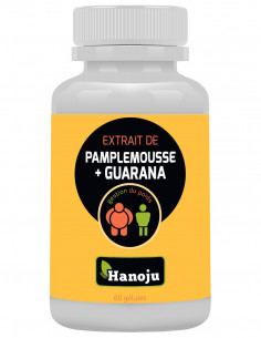 Complexe Pamplemousse Guarana – 60 gélules de 450mg